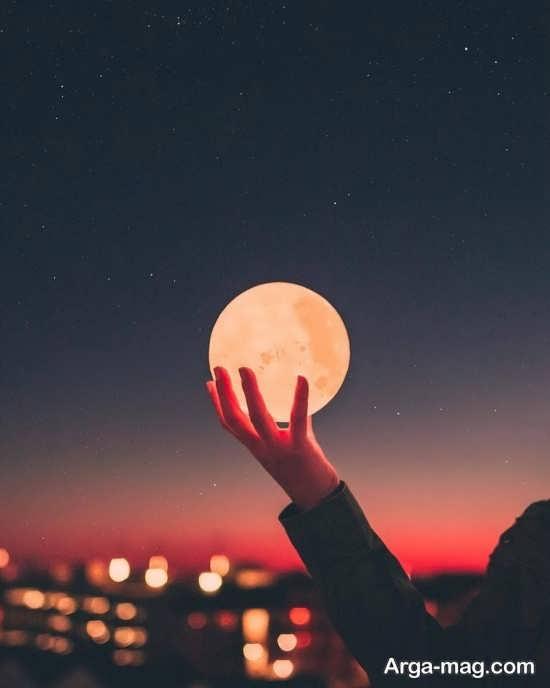 عکس ماه فانتزی زیبا