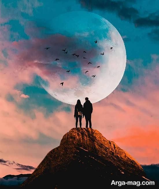 عکس ماه برای پروفایل دیدنی