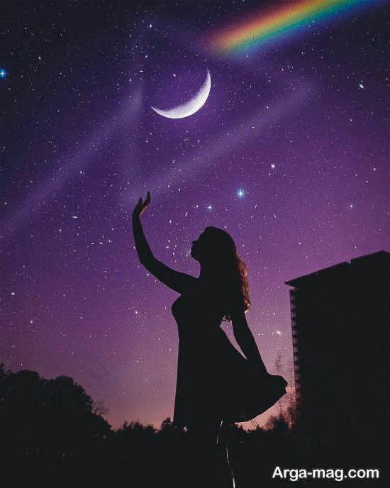 عکس ماه برای پروفایل زیبا