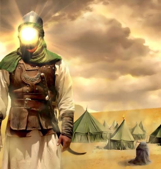 انواع عکس متن دار درباره حضرت ابوالفضل برای شبکه های اجتماعی