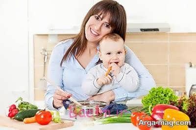 تناسب اندام بعد زایمان با رژیم غذایی مناسب