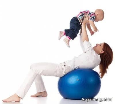 تناسب اندام بعد زایمان با انجام حرکات ورزشی