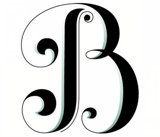 نمونه هایی زیبا و شیک از عکس پروفایل واژه B انگلیسی