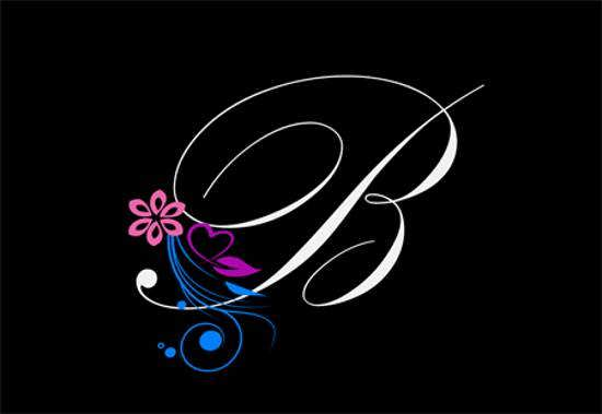 جدیدترین و جذاب ترین ایده عکس پروفایل واژه B