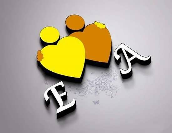 عکس پروفایل حرف A با طرح های زیبا و گرافیکی برای شبکه های اجتماعی