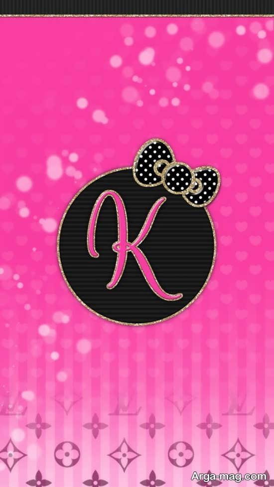 گالری عکس پروفایل حرف K