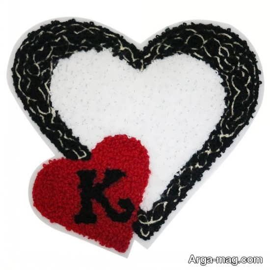طرح فانتزی زیبا از حرف K
