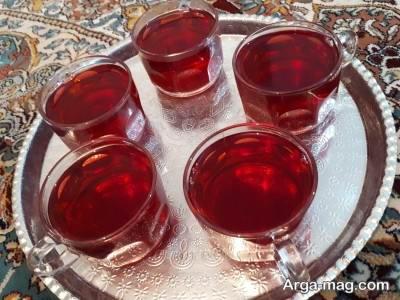 روش تهیه چای آلبالو