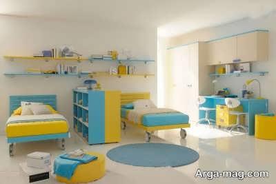 اتاق خواب کودکان دوقلو