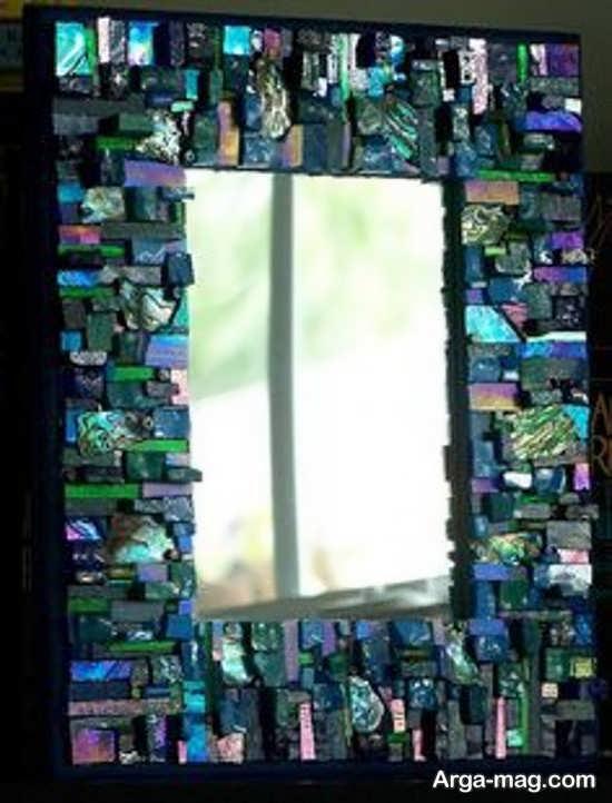 تزئین برای دور آینه با سی دی