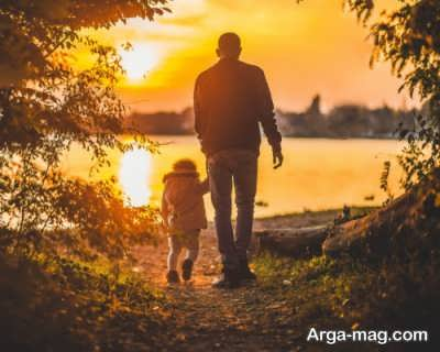 جمله های زیبا برای پدر