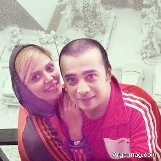 سپند امیر سلیمانی و عکسایی از همسرش