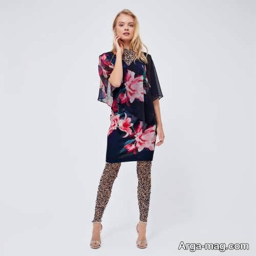 مدل لباس گلدار دخترانه