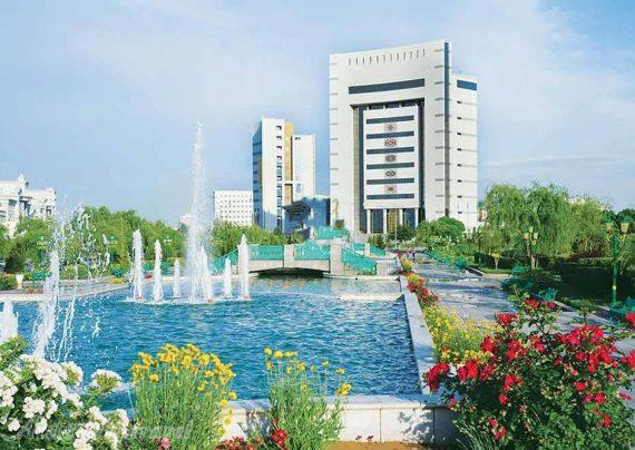مکان های دیدنی عشق آباد پایتخت زیبای ترکمنستان