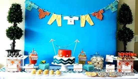 تزئین و چیدمان میز سیسمونی