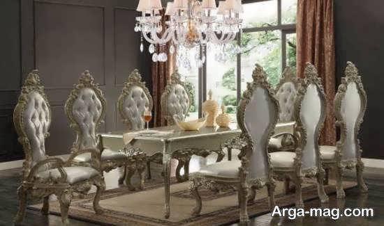 انواع مدل میز ناهار خوری استیل زیبا و شیک