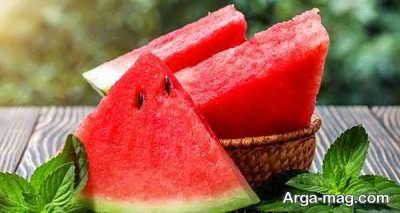 میوه های پر قند