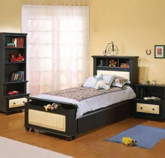 نمونه هایی زیبا و دوست داشتنی از تخت خواب تک نفره نوجوان
