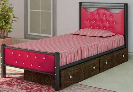 انواع تخت خواب تک نفره برای دکوراسیون اتاق نوجوان