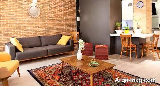 زیباسازی منزل با طرح سنتی برای علاقه مندان به فرهنگ ایرانی