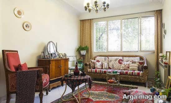 مجموعه دکوراسیون منزل سنتی برای علاقه مندان به وسایل آنتیک و قدیمی