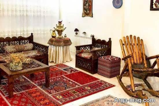 ایده هایی عالی و آنتیک از چیدمان سنتی برای منزل