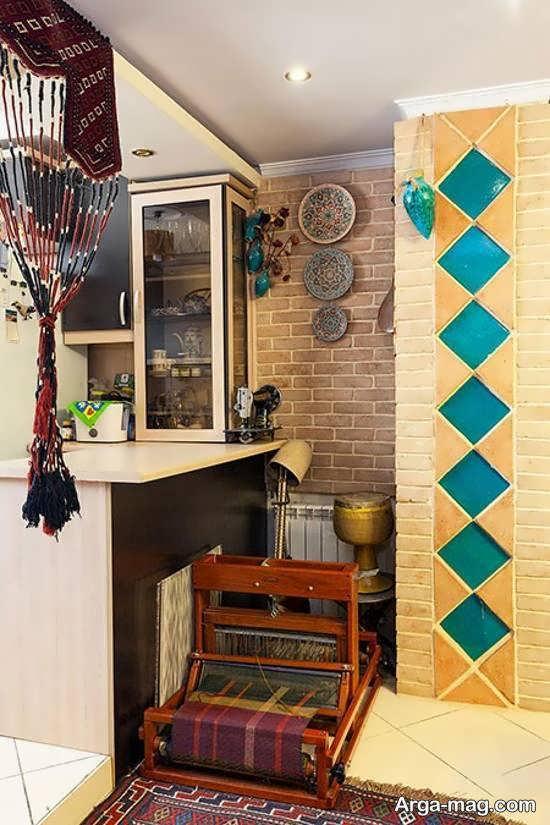 ایده های جالب و با شکوه چیدمان منزل سنتی