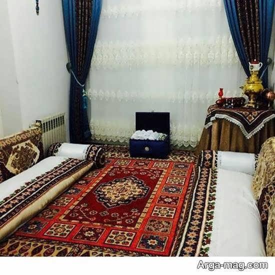 گالری طراحی منزل سنتی زیبا و خاطره ساز