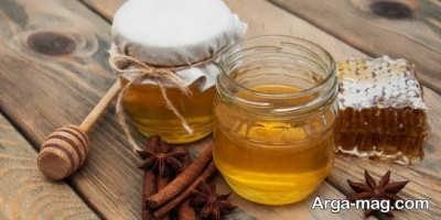 بهبود زخم معده با عسل