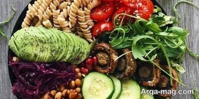 کاهش وزن با رژیم گیاهی