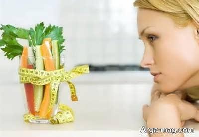 استفاده از رژیم سبزیجات جهت کاهش وزن