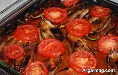 دستور پخت خورش گوجه و بادمجان