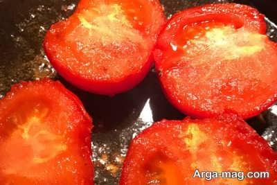 تفت دادن گوجه