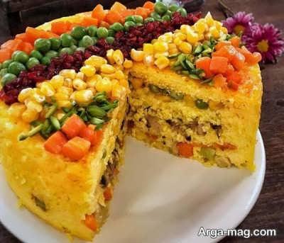 ته چین سبزیجات