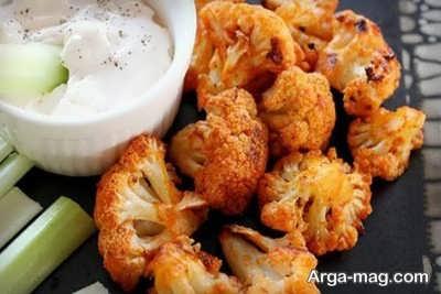 طرز تهیه گل کلم سوخاری