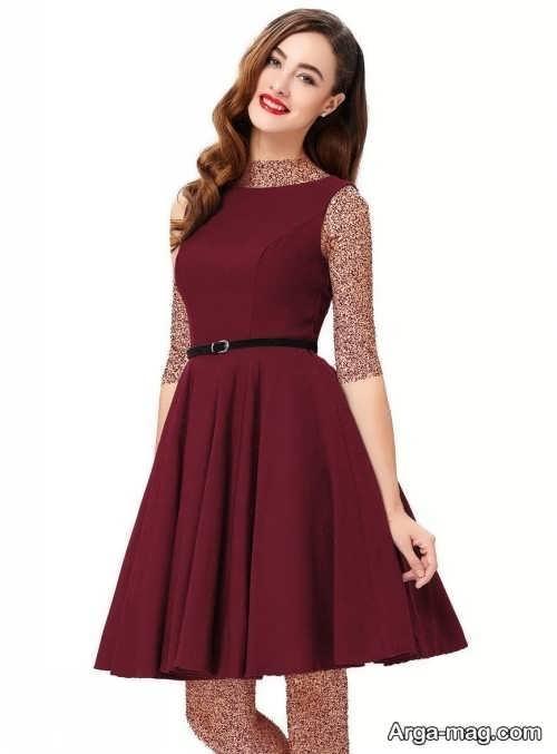 مدل لباس مجلسی فون و زیبا