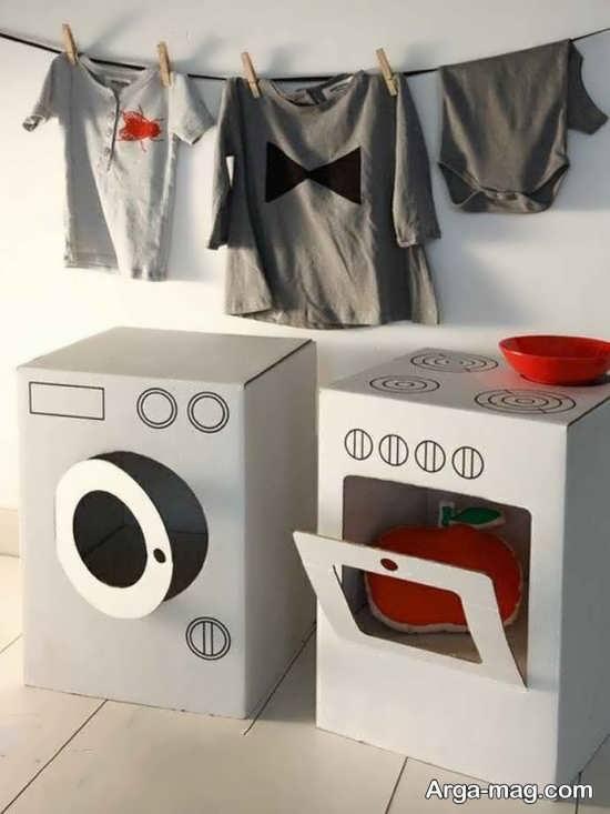 کاردستی متفاوت از ماشین لباسشویی