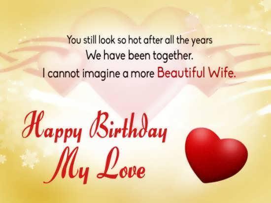 انواع کارت پستال احساسی برای تبریک تولد همسر