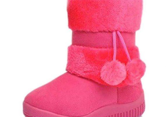 نمونه هایی زیبا و شیک از مدل کفش بچگانه زمستانی
