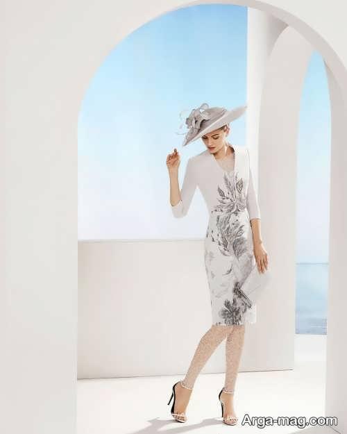مدل لباس مجلسی کار شده و زیبا