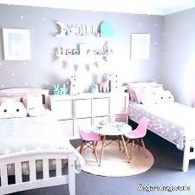 تزیین دکوراسیون اتاق خواب دخترانه