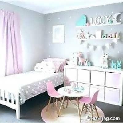 طراحی اتاق خواب دخترانه جوان
