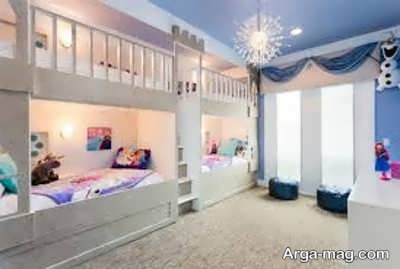تزیین اتاق خواب با کاغذ رنگی