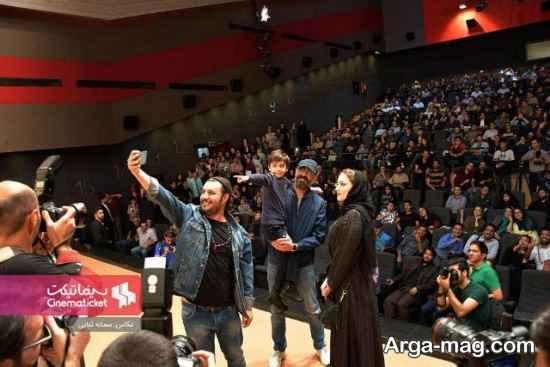 جواد عزتی، هادی حجازی فر و بهنوش طباطبایی در مشهد