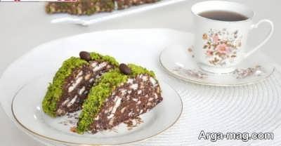دستور تهیه کیک موزاییکی