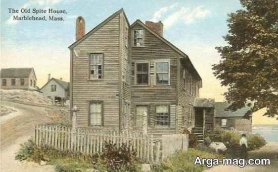 خانه لجبازی، خانه هایی که به لج همسایه شاخت می شوند