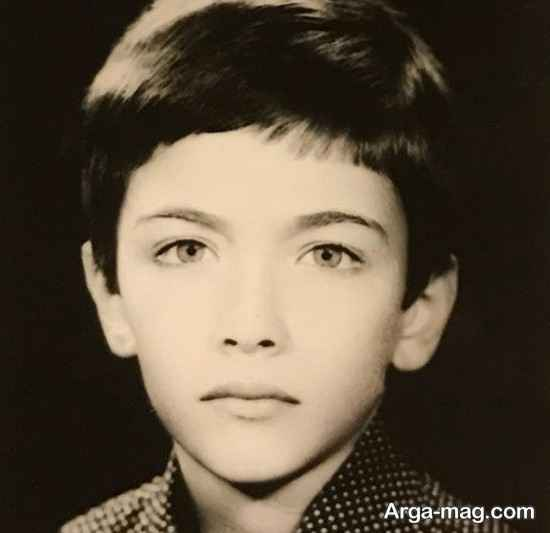 عکس قدیمی از دوران کودکی پارسا پیروزفر