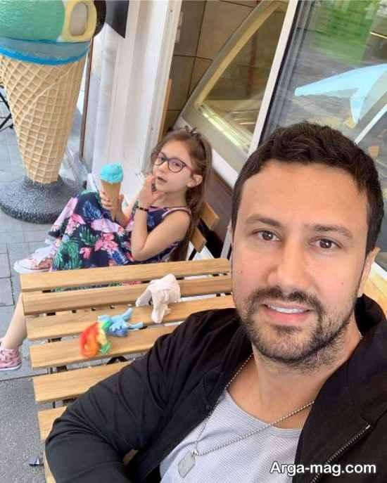 شاهرخ استخری و پناه در سفر اروپا