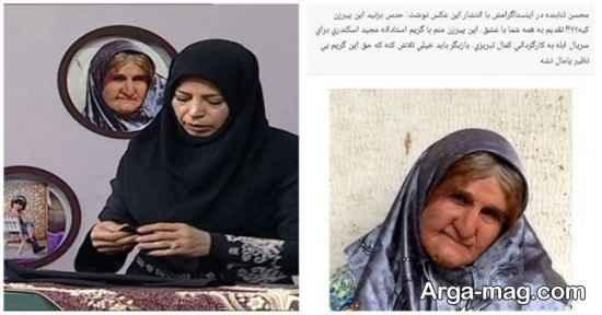 عکس محسن تنابنده در دکور برنامه به خانه برمیگردیم