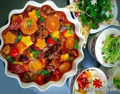 روش پخت تاس کباب